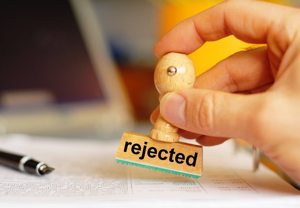 underwriter rejection VA loan applications